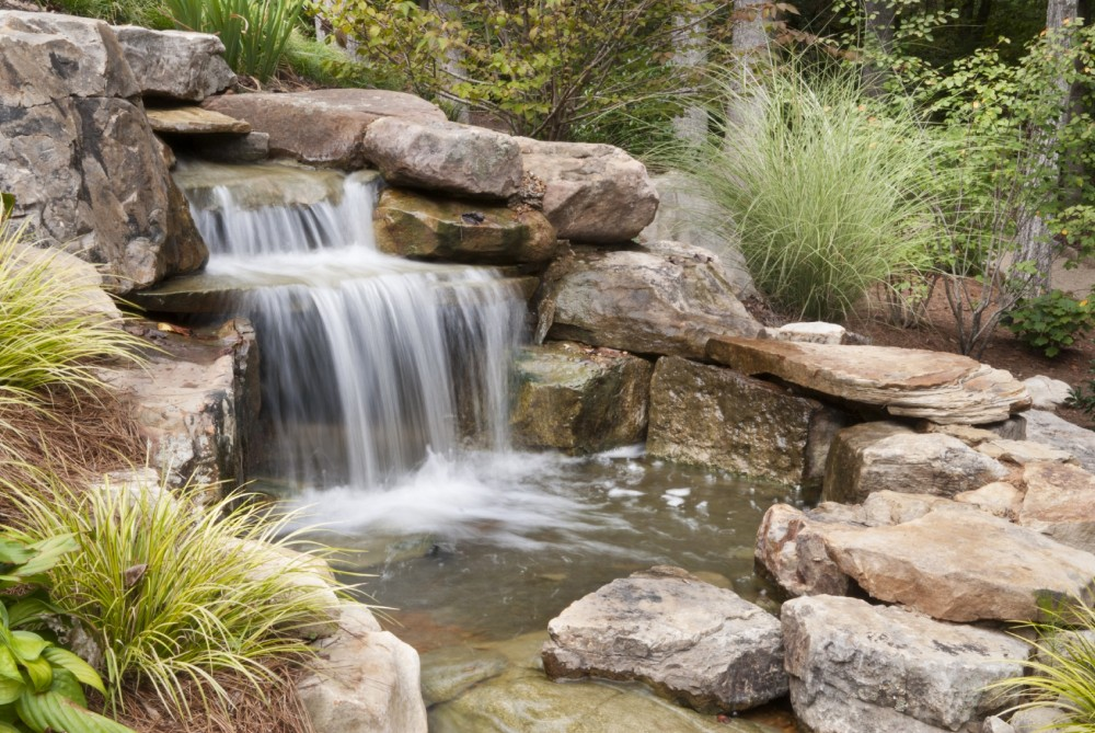 Waterfall Landscape Design Ideas garden design with waterfall designs for your backyard ultimate home ideas with rock landscape design from Outdoor Waterfalls Ideas How To Dalton