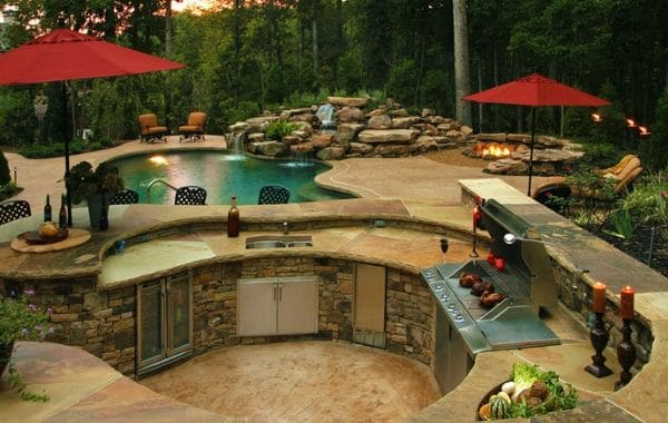 Backyard Construction Design by Callaway Outdoor