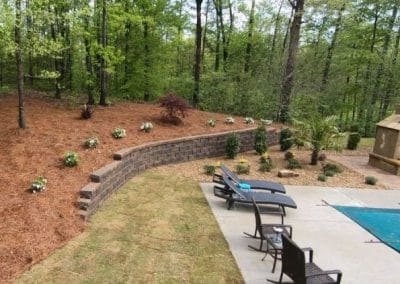 Backyard Landscape Additions
