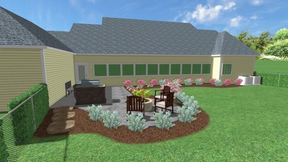 Backyard Landscape Design Callaway Outdoor