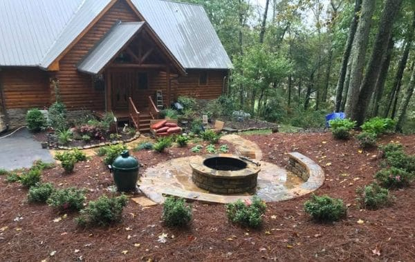 Backyard Landscape Design Installed by Callaway Outdoor