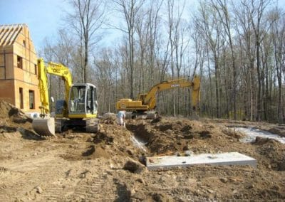 Excavating For In-Ground Pool