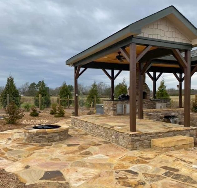 Flagstone Paver Project