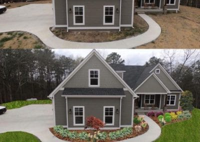 Landscape Design Mockup By Callaway Outdoor