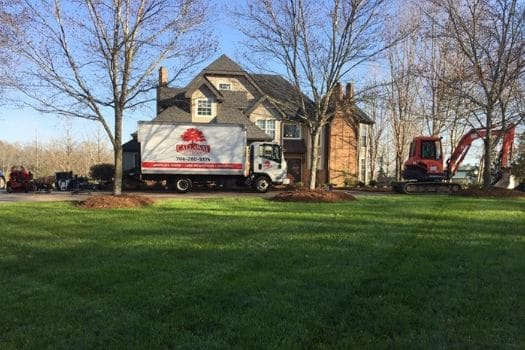 Lawn and Home with Callaway Outdoor Truck and Equipment