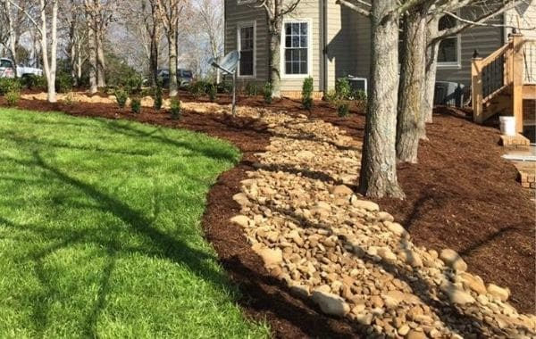 Mulch Installation By Callaway Outdoor