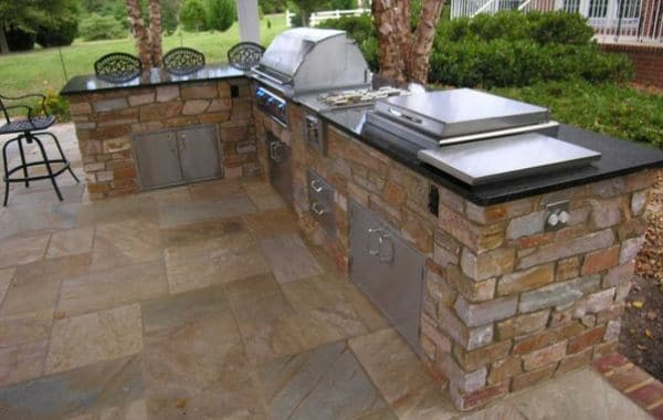 Outdoor Kitchen Installed By Callaway Outdoor