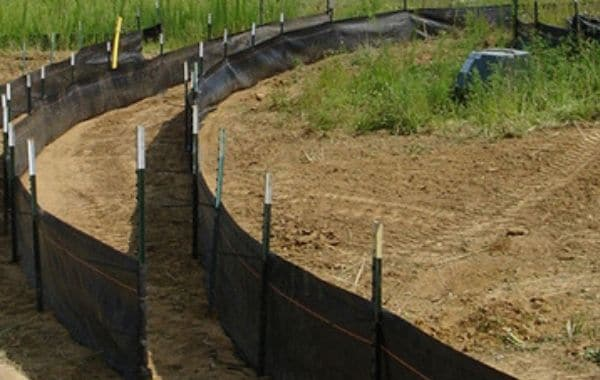 Silt Fence For OSHA Compliant Outdoor Construction