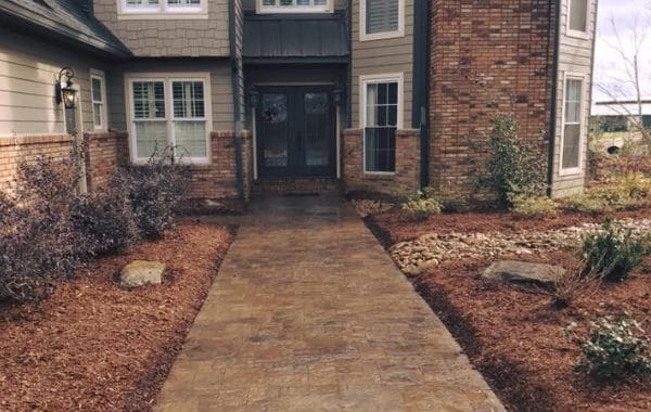Stamped Concrete by Callaway Outdoor